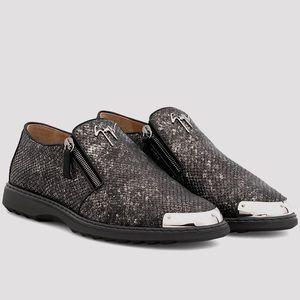 giuseppe zanotti NIB python leather men's shoes